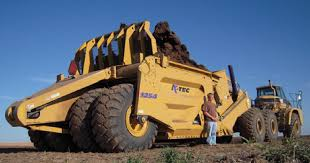 پاورپوینت ماشین آلات راهسازی و ساختمانی اسکریپر (scraper) و کاربرد آن در 16 اسلاید